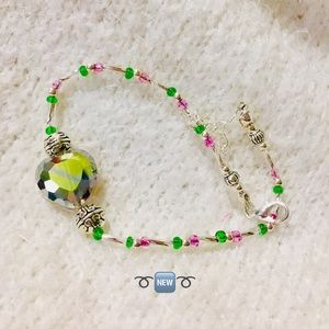 Crystal Beaded 10.5'. Anklet ➰🆕➰ Offer Friendly